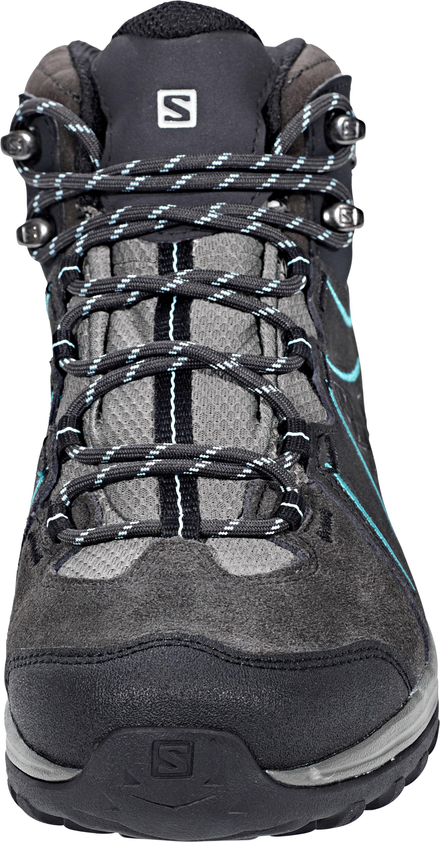 091703d7 Salomon Ellipse 2 Mid LTR GTX Shoes Women phantom/castor gray/aruba blue